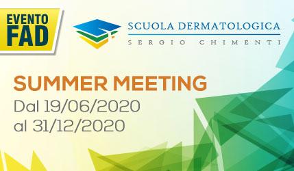 scuola-dermatologica-sergio-chimenti-evento-giugno - SUMMER MEETING