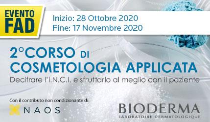 COSMETOLOGIA APPLICATA 2020