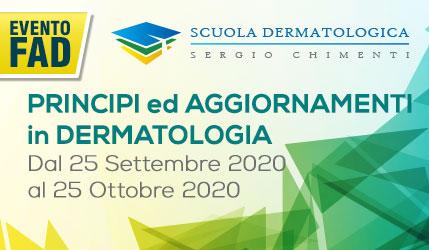 Scuola Dermatologica Sergio Chimenti | PRINCIPI ed AGGIORNAMENTI in DERMATOLOGIA